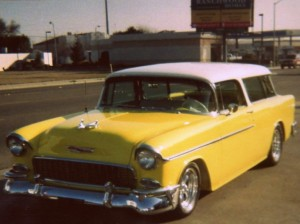 1955 Chevy Nomad Front