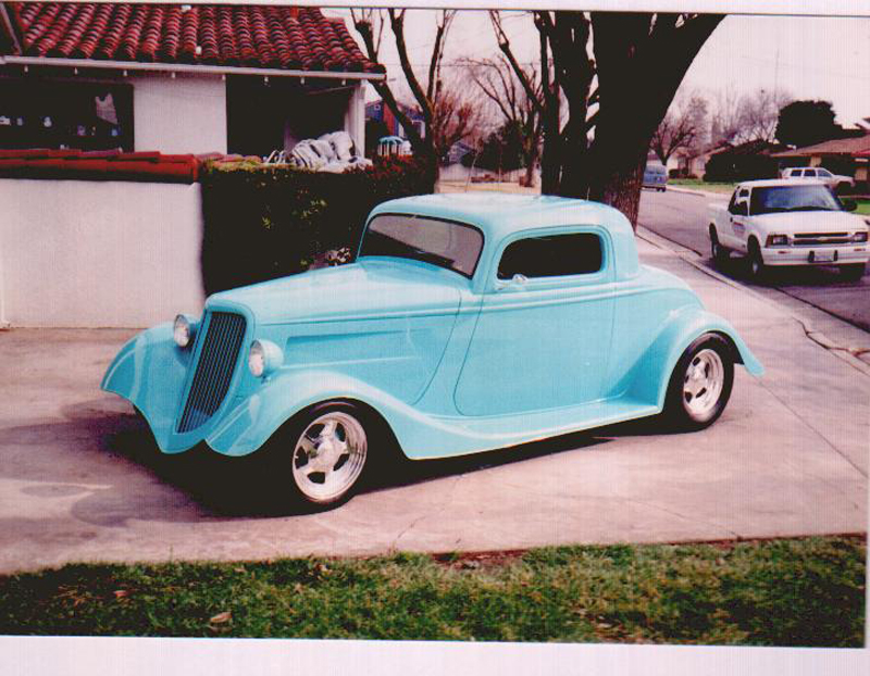 Complete Restoration of a 1934 Ford 3-window Coupe